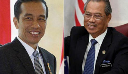Muhyiddin Lawat Indonesia Esok Atas Undangan Jokowi