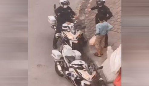Terbaiklah Abang Polis!