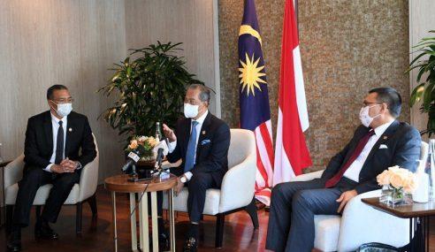 Muhyiddin Sifatkan Lawatan Rasmi Ke Indonesia Amat Berjaya