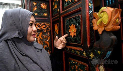 Mimbar Masjid Kariah Nerasau Hampiri Usia 200 Tahun