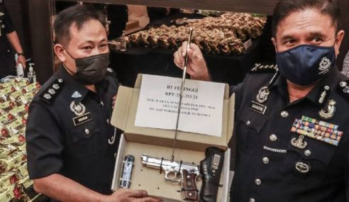 Polis Bongkar Sindiket Dadah RM5.2 Juta