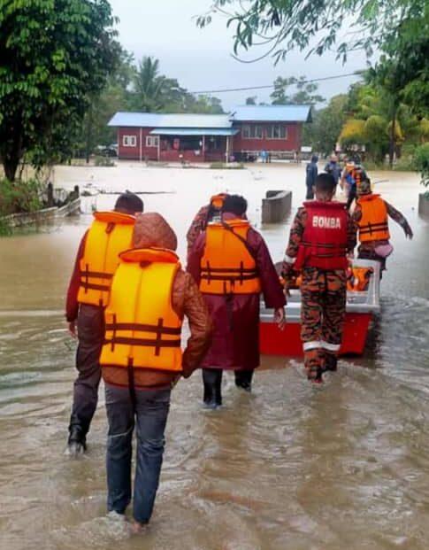 Mangsa Banjir Di Kuantan Meningkat Sekali Ganda