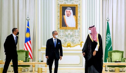Lawatan PM Ke Arab Saudi Kukuh Hubungan KL-Riyadh
