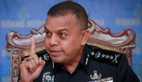 'Datuk Seri' Ugut Porak-Perandakan Polis Ditahan