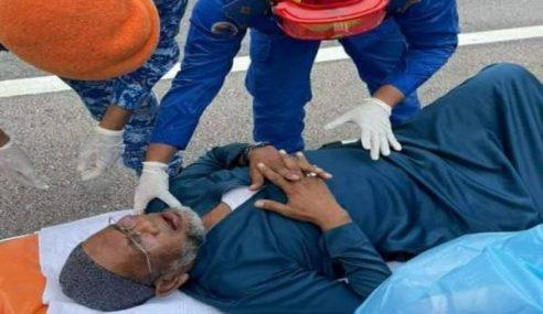 Nash Cedera Terbabit Kemalangan Di Lebuh Raya