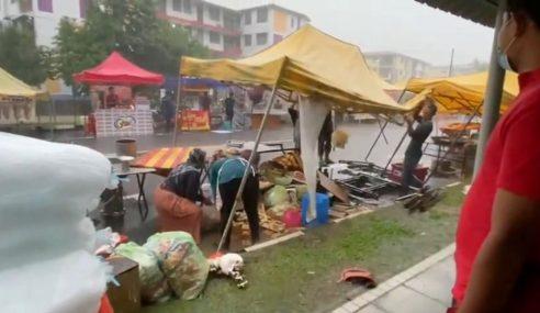 Banjir Kilat Di Beberapa Kawasan Di Ibu Negara