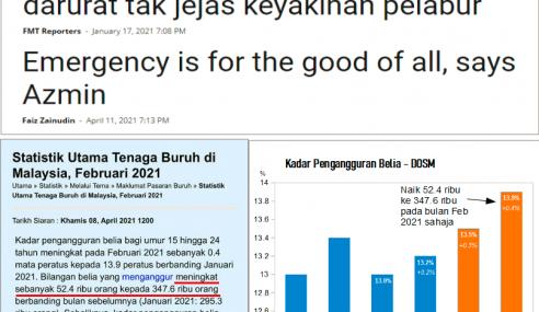 Betulkah Darurat Tidak Jejas Ekonomi Negara – Najib