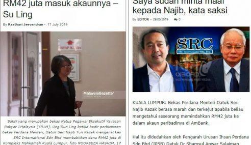 """""""Saya Jelaskan Semula Isu SRC"""" – Najib"""