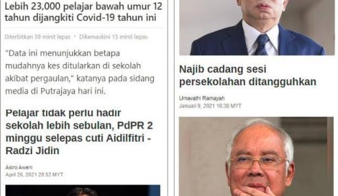 """Hati Saya Dah Mula Letih"" – Najib"