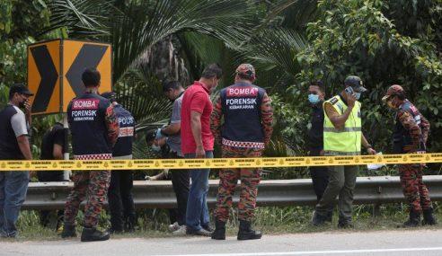 Mayat Tanpa Identiti Dipercayai Dibunuh Sebelum Dibakar