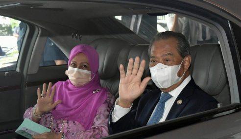 Muhyiddin Tiba Di Kuching Untuk Lawatan Kerja