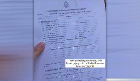Palsu Tandatangan Borang Rentas Negeri, Polis Buka Kertas Siasatan
