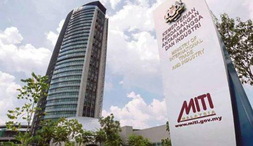 18 Sektor Pembuatan, MRS Dibenarkan Operasi – MITI