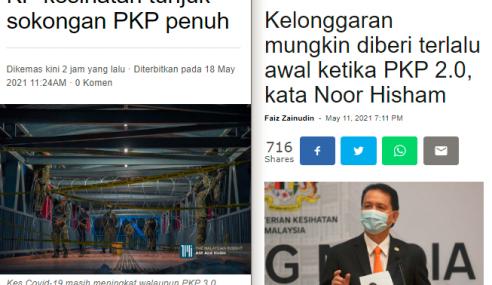Ini Hasilnya Dalam Tempoh 4 Bulan Darurat+PKP2.0 – Najib