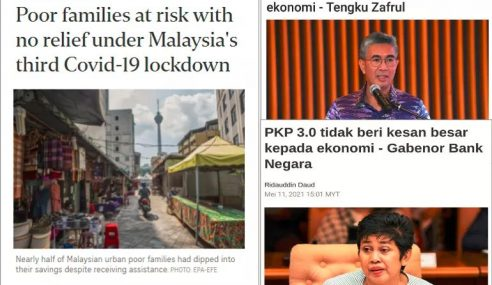 PKP 3.0: Media Asing Hairan Malaysia Tak Beri Bantuan