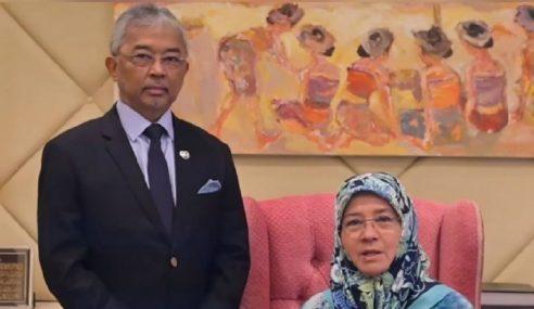 Agong, Permaisuri Ucap Takziah Pemergian Bekas ADUN Pahang