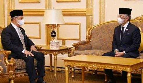 Agong Terima Menghadap PM Untuk Mesyuarat Pra-Kabinet