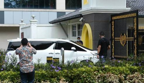 Presiden MCA Pula Tiba Di Istana Negara