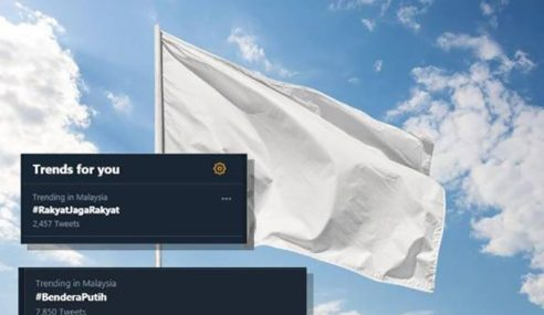 Kempen Kibar Bendera Putih Tarik Perhatian Warganet