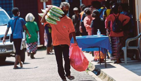 Ahli Parlimen Dapat RM300,000 Untuk Bantuan Bakul Makanan