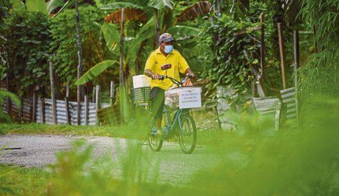 Kayuh Basikal Cari Rezeki Jual Produk Sejuk Beku