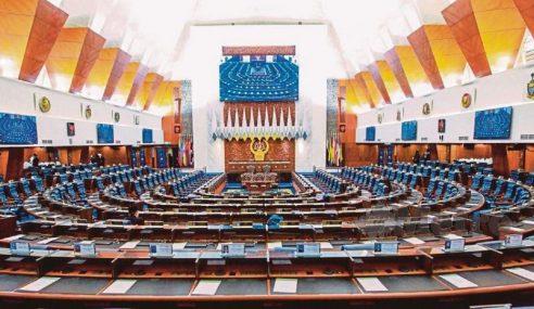 Mesyuarat Pertama Dewan Rakyat Bersidang 6 September