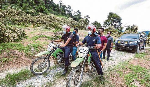 Tiga Hutan Simpan Sekitar Raub, Diceroboh Pekebun Haram